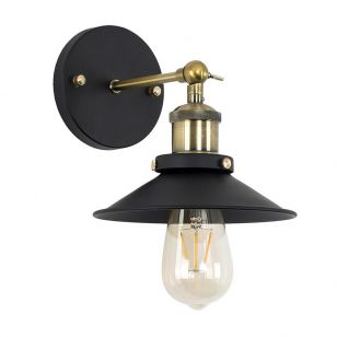 Edit Steam Wall Light - Black