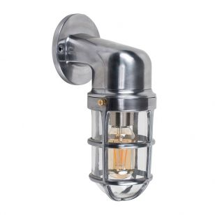Edit Maritime Wall Light - Brushed Chrome