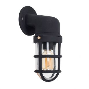 Edit Maritime Wall Light - Black