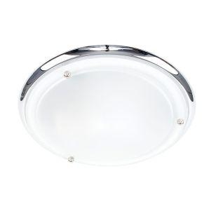 Edit Ordin Flush Ceiling Light - Chrome
