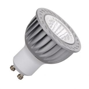 6W Blue Dimmable LED GU10 Bulb - Medium Beam