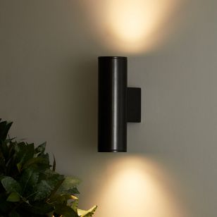 Edit Pimlico LED Outdoor Up & Down Wall Light - Anthracite
