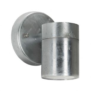 Edit Coastal Viking Outdoor Wall Light - Galvanised Steel