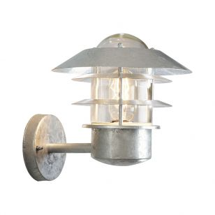 Edit Coastal Stage Outdoor Wall Light - Galvanised Steel