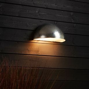 Edit Coastal Arctic Outdoor Wall Washer Light - Galvanised Steel