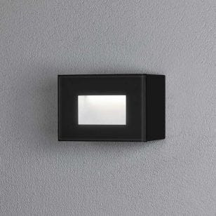 Konstsmide Chieri LED Outdoor Wall Light - Black