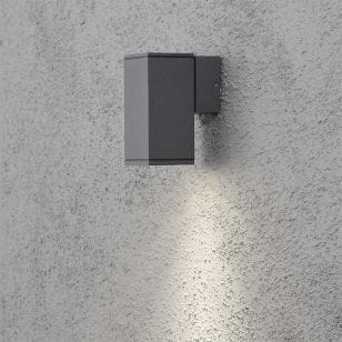 Konstsmide Monza Outdoor Wall Light - Anthracite