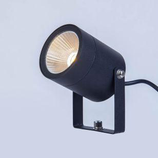 EasyFit 12V Garden Lights - Fern LED Spotlight - Black