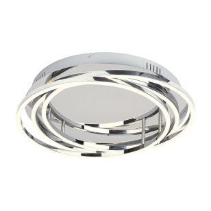Edit Samuel LED Flush Ceiling Light - Chrome