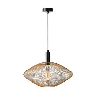 Lucide Mesh Ceiling Pendant Light - Matt Gold