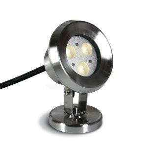 Sub 3W LED Underwater Spotlight - Stainless Steel