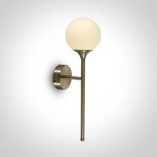Spear Wall Light - Brushed Brass