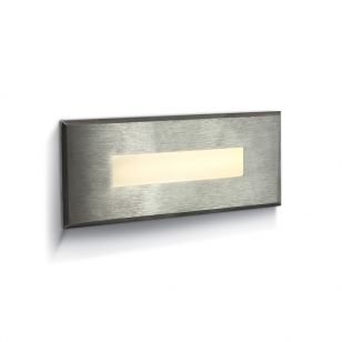 Coastal Postbox Small LED Outdoor Wall Light - Stainless Steel