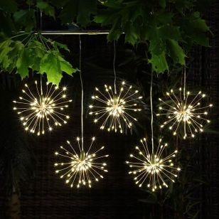 Edit Starburst Battery Operated LED String Lights - 5 Lights