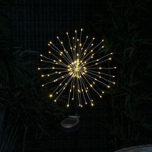 365 Firework Solar LED Stake Light