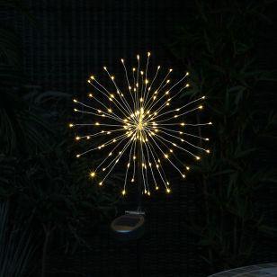 365 Firework Solar LED Stake Light
