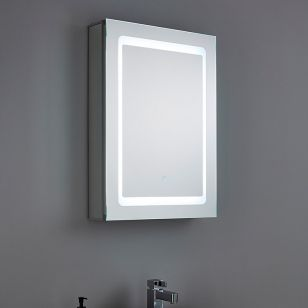 Aryton LED Illuminated Bathroom Mirror Cabinet