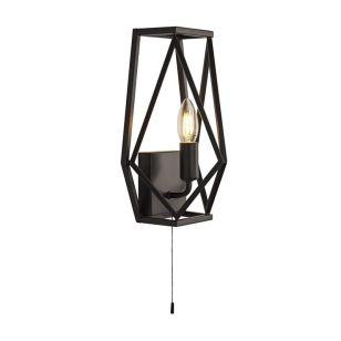 Edit  Archi Flush Wall Light - Black