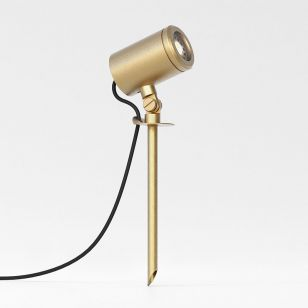 Astro Coastal Jura Outdoor Garden Spotlight - Brass