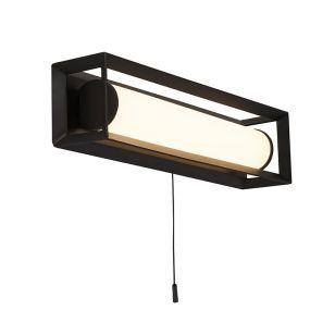 Edit State 300 LED Flush Wall Light - Matt Black