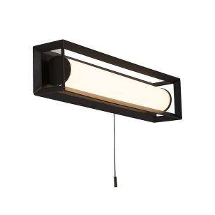 Edit State 400 LED Flush Wall Light - Matt Black