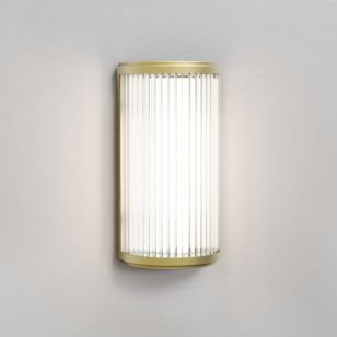 Astro Versailles 250 LED Flush Wall Light - Matt Gold