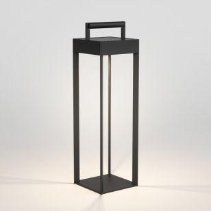 Astro Kuro 450 Solar LED Outdoor Feature Lantern - Textured Black