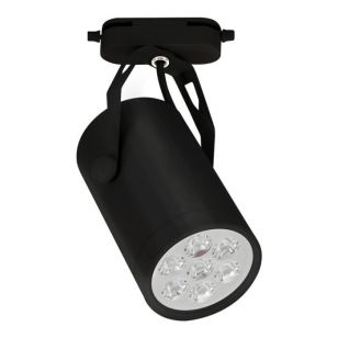 Edit Store 7W LED 1 Circuit Track Light - Black