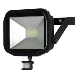 Luceco Slimline 38W Daylight LED Guardian Floodlight with PIR Sensor
