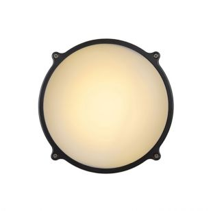 Lucide Hublot Round LED Outdoor Wall Light - Standard