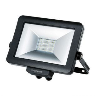 Timeguard Pro 30W Cool White LED Rewireable Floodlight - Black