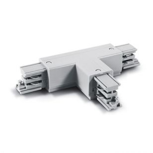 3 Circuit T Connector - White
