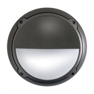 ASD Horizon Outdoor Flush Light Titanium - Eyelid