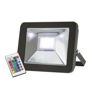 Knightsbridge 30W RGB LED Remote Controlled Floodlight
