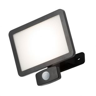 Coastal 30W Daylight LED Floodlight with PIR sensor
