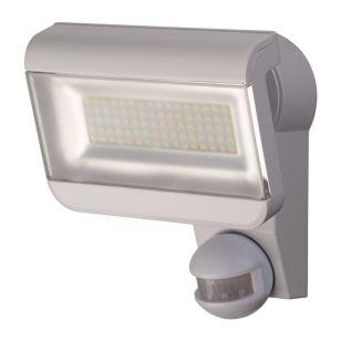 Premium City 40W Daylight LED Floodlight with PIR Sensor - Grey