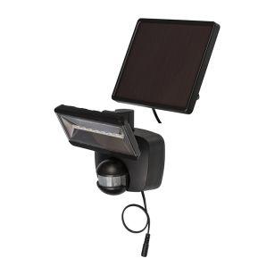 Brennenstuhl LED Solar Floodlight with PIR Sensor - Black