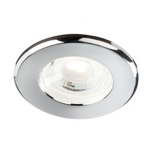 Polished Chrome Bezel for Eco Fixed Downlight
