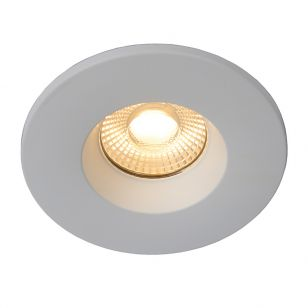Lucide Binky 6.5W Warm White Dimmable LED Fixed Downlight