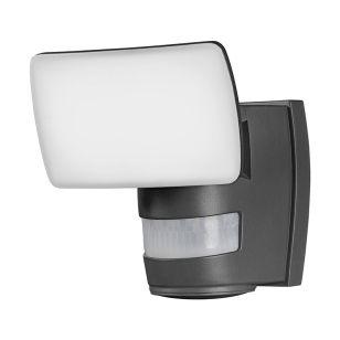 Ledvance Endure 24W Warm White LED Flood Trace with PIR Sensor - Dark Grey