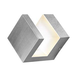Ledvance Endura Pyramid 8W Warm White LED Outdoor Wall Light - Stainless Steel