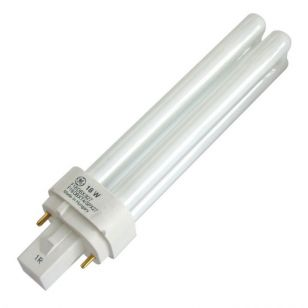 18W Warm White 2 Pin Biax-D G24D-2 Low Energy Bulb