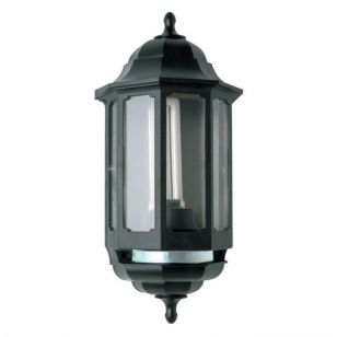 ASD Coach Half Lantern Outdoor Wall Light with PIR Sensor