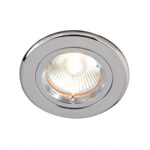 Robus Fixed Downlight - Polished Chrome