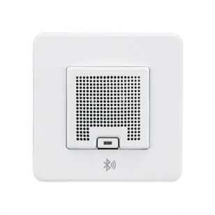 Screwless 3W RMS Bluethooth Speaker Outlet - Matt White
