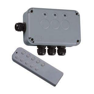 IP66 3 Gang Remote Switch Box