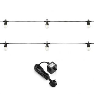 EasyFit 12v Garden Lights - Golf LED Festoon Kit - 20 Lights
