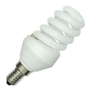 11W Compact Spiral Low Energy Bulb - Small Screw Cap