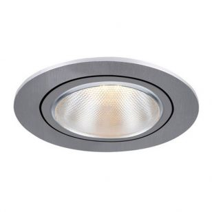SLV Kaholo Recessed Adjustable Downlight - Brushed Aluminium