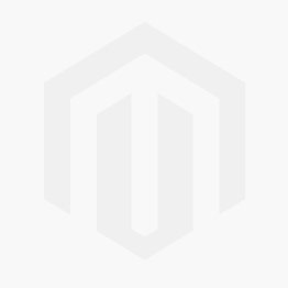 Pole 5 Light Glass Chandelier - Polished Nickel